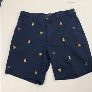 Polo Ralph Lauren Embroidered Shorts Navy